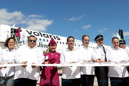 Julio, histórico mes en llegada de visitantes por vía aérea a Yucatán