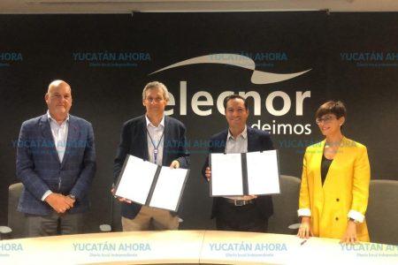 Mauricio Vila trae a Yucatán una fábrica de satélites