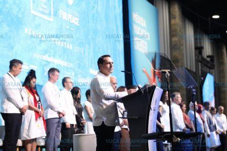 Yucatán quiere contagiar al mundo su cultura de paz