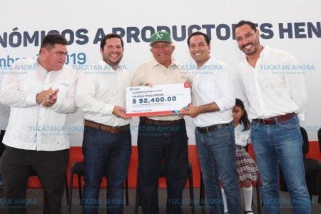 Histórica inversión en Yucatán para impulsar el cultivo de henequén