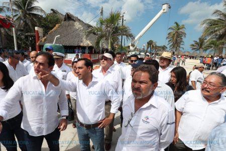 En Progreso los turistas caminarán 'sobre las olas del mar'
