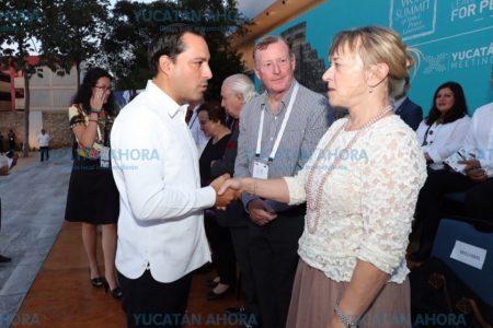 Yucatán, un ejemplo de sociedad: Jody Williams, premio Nobel de Paz
