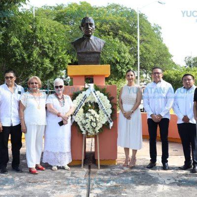 Recuerdan el gran amor que le tenía Ermilo Abreu Gómez a Yucatán