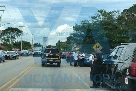 Estalla conflicto entre taxistas de Valladolid y Chemax