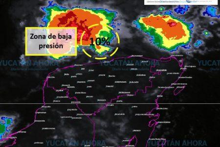Baja presión en la costa de Yucatán provocará lluvias fuertes