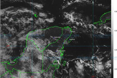Seguirán nublados y lluvias en Yucatán; en Mérida solo llovizna