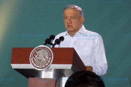 En Yucatán la policía no está dominada por la delincuencia: AMLO