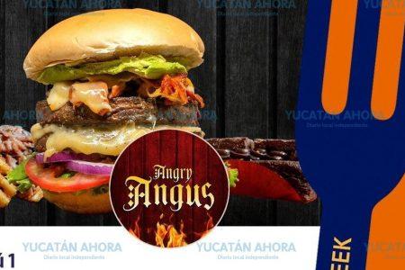 Angry Angus se apunta para el Mérida Restaurant Week