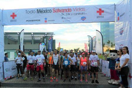 Exitosa carrera 'Todo México Salvando Vidas' de la Cruz Roja