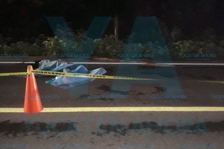Atropella, mata y huye, en la carretera Acanceh-Cuzamá