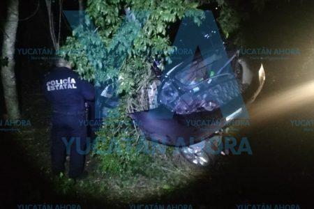 Tragedia por piso mojado en la autopista Mérida-Cancún