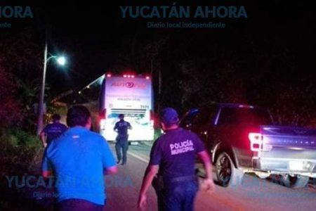Intentan asaltar en Bacalar un autobús con destino a Mérida