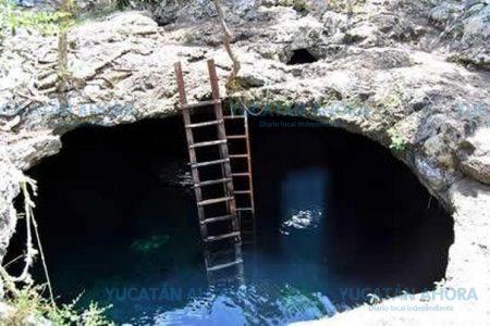 Encuentran cadáver flotando en un cenote