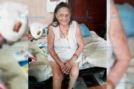 A sus 96 años tiene muchas ganas de vivir, pero requiere ayuda