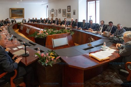 López Obrador se reúne con el Consejo Empresarial de Yucatán