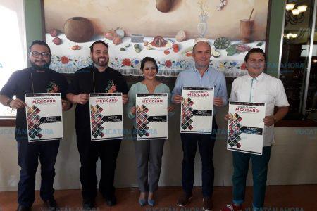 Anuncian el Festival Gastronómico Orgullosamente Mexicano
