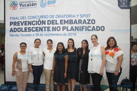 Ganan concurso creando conciencia sobre el embarazo juvenil
