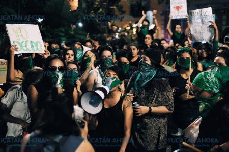 Piden que no se criminalicen las manifestaciones de Marea Verde