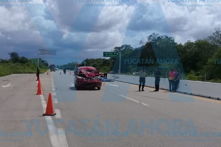 Trágico encontronazo en la carretera Mérida-Chetumal