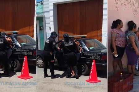 Desalojan con lujo de violencia a una abuelita vendedora en Motul