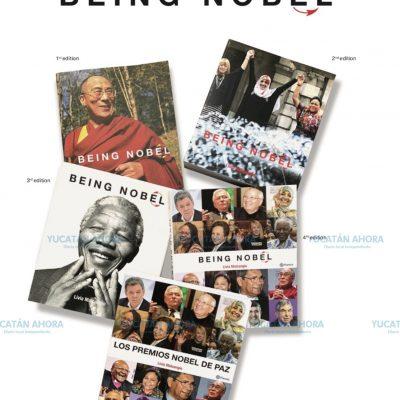 Presentarán en Mérida el libro 'Being Nobel'