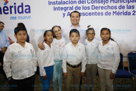 El bienestar de los niños, primordial en Mérida