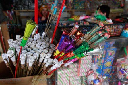 Instalan por segundo año la Feria de la Pirotecnia en Yucatán