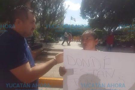 Ambulantes desalojados de calles de Mérida piden que los reubiquen