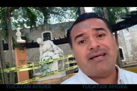 Renán Barrera anuncia protocolos contra daños a sitios públicos en protestas