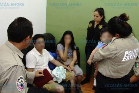 Auxilian a matrimonio y su bebé víctimas de secuestro virtual