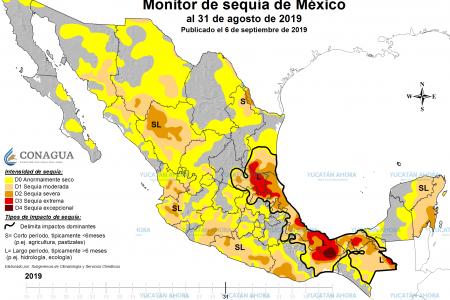 Se intensifica la sequía en la Península de Yucatán