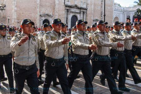 Por primera vez desfilan los 'ojos' de la seguridad en Yucatán