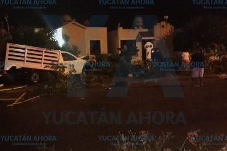 Desastroso accidente en Villas Caucel