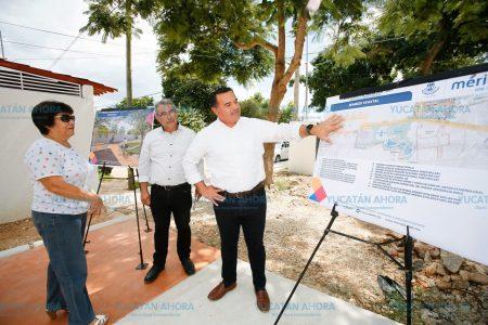 Renán Barrera supervisa trabajos del Gran Pulmón de Mérida Ya´axtal
