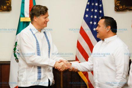 Mérida, ciudad excepcional a los ojos del mundo: Embajador de EE.UU.