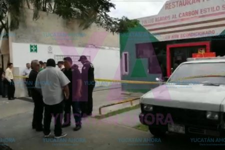 Muere un guardia privado en restaurante de la avenida Reforma