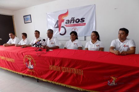 Yucatán, presente en festejo regional por los 45 años de Antorcha