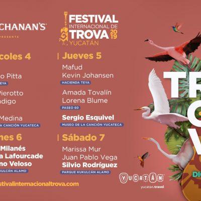 Yucatán, listo para el Segundo Festival de trova