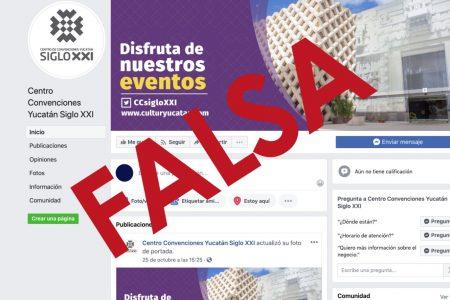 Alerta de cuenta falsa del Siglo XXI en Facebook