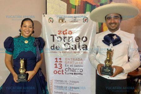 Anuncian Segundo Torneo de Gala 'Charrería, Patria y Tradición'
