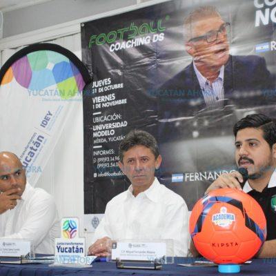 Preparador físico de Maradona impartirá curso en Yucatán