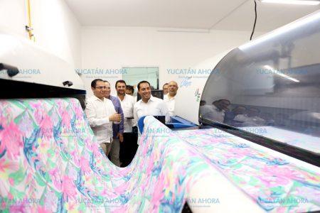 Mauricio Vila inaugura moderno laboratorio de la industria del vestido