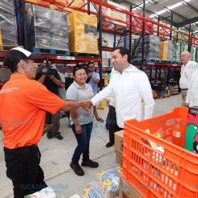 Mauricio Vila presenta la estrategia Hambre Cero en Yucatán