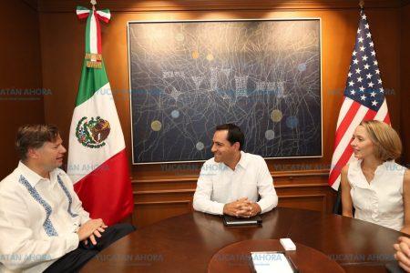 Yucatán presume a Estados Unidos sus ventajas competitivas