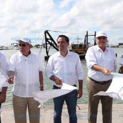 Rehabilitan y modernizan el puerto de abrigo de Yucalpetén