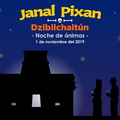 Janal Pixán y Noche de ánimas en Dzibilchaltún