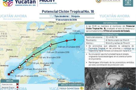Procivy mantiene monitoreo permanente de tormenta en el Golfo