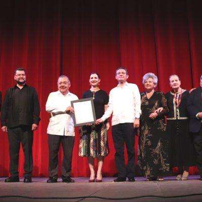 Reconoce Sedeculta a la Sociedad Artística 'Ricardo Palmerín', por sus 70 años