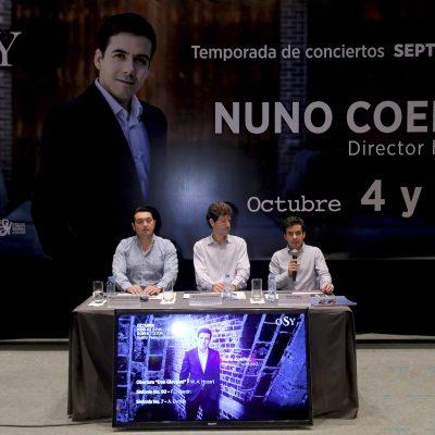 Llega prestigiado director a la Orquesta Sinfónica de Yucatán