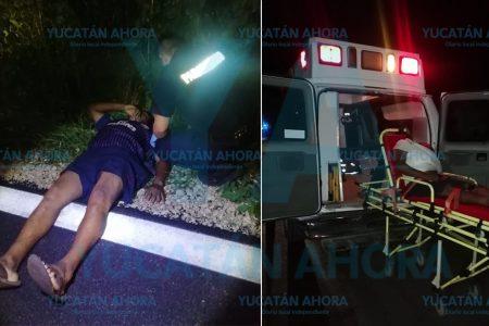 Vehículo huye tras chocar y lesionar a un ciclista